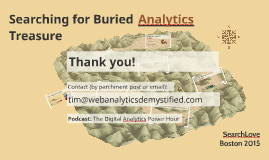 Searching for Buried Analytics Treasure