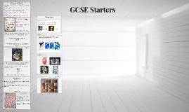 GCSE Starters