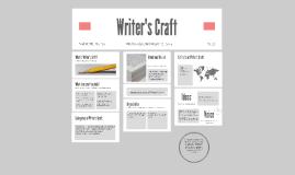 Copy of Writer's Craft