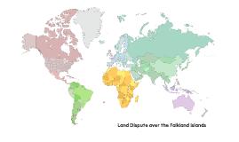 Land Dispute over Falkland Islands