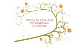TIENDA DE ARTESANIAS ARTEMANIA