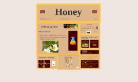 Copy of How Honey Is Used in Medicine