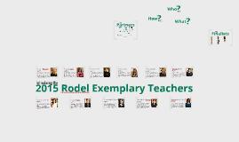 2015 rodel exemplary