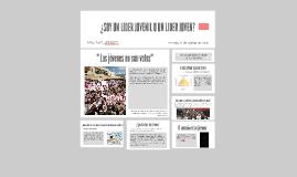 Copy of OPORTUNIDADES PARA LOS JÓVENES EN LA POLÍTICA