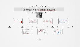 Le parcours de Mathieu Baudrin