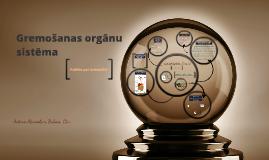 Gremošanas orgānu sistēma