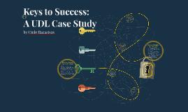 UDL Case Study