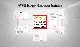WSU Hunger Awareness Initiative