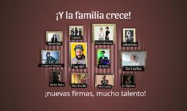 Familia Warner Chappell Music México