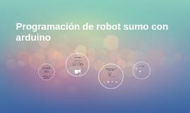Programación de robot sumo con arduino