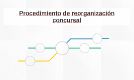 Procedimiento de reorganización concursal