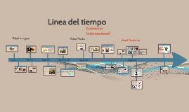 Historia de comercio internacional  Linea del tiempo