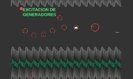 EXCITACION DE GENERADORES
