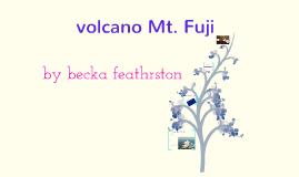 Volcanos:Mt. Fuji
