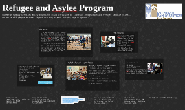 Refugee and Asylee Program