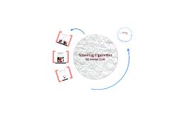 Copy of Smoking Cigarettes
