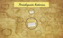 Periodización historica
