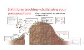 Sixth form teaching - the easy alternative?