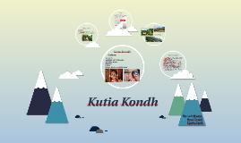 Kutia Kondh