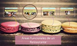 Áreas funcionales de un Restaurante