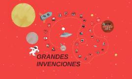 Copy of GRANDES INVECIONES