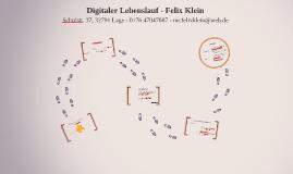Lebenslauf - Felix Klein