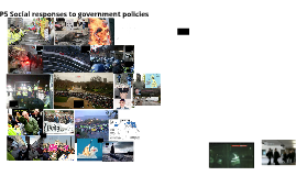 Social Responses to government policies