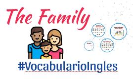 La Familia: Ejercicios de vocabulario en ingles de los miembros de la familia # 1