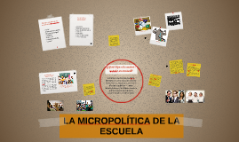 Copy of LA MICROPOLÍTICA DE LA ESCUELA