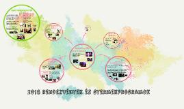 2016 rendezvények és gyermekprogramok