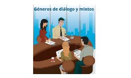 Sobre los géneros de diálogo y mixtos en la radio
