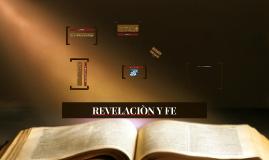 REVELACIÒN Y FE