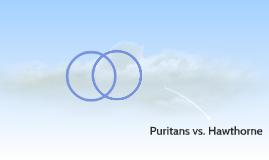 Puritans vs. Hawthorne