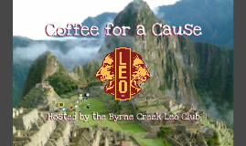 Presentation Coffee for a Cause
