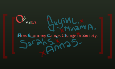 How Economy Causes Change in Society?