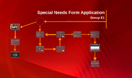 Special Needs Form Application