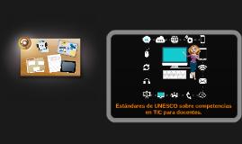 Estandares de Competencias TIC.