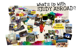 What is Up With Study Abroad? (mini)