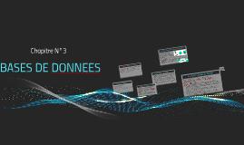 BASES DE DONNEES