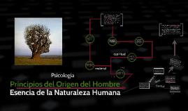 Copy of Esencia de la Naturaleza Humana