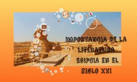 Importancia de la Literatura Egipcia