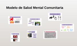 Modelo de Salud Mental Comunitaria