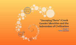 """""""Decoying Them"""": Creek Gender Identities and the Subversion"""