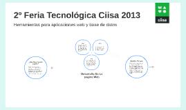 2º Feria de Tecnología Ciisa 2013