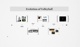 Evolution of Volleyball