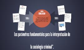 Los parámetros fundamentales para la interpretación de