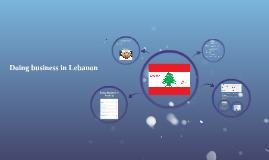 Copy of Lebanon