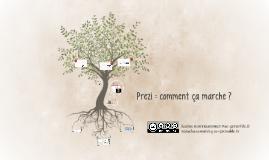 Copy of Prezi : comment ça marche ?