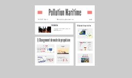 Pollution maritime