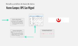Nuevo Campus: UPC San Miguel